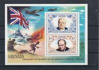 Sir Winston Churchill MNH Stamps Sheet 1865 Ref: R8011