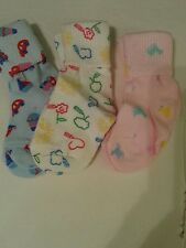 Infant' s printed girl's socks cotton,size 0-9 months
