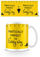 DISNEY MARY POPPINS PRACTICALLY PERFECT MUG NEW GIFT BOXED OFFICIAL LICENSED