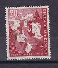 Echte Briefmarken aus der BRD (1948-1954) mit Familie- & Soziales-Motiv