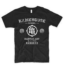 Kamehouse T Shirt Goku Dragon Ball Train To Go Super Saiyan Gym SSJ Vegeta