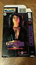 CATACLYSM VHS BOX ONLY NO TAPE SEE DESCRIPTION HORROR GENESIS HOME VIDEO