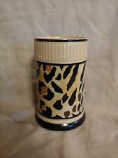 "*Really Cute Vase/Holder*~Small ~ Cheetah/Leopard Print Design ~ 5""x3"" *"