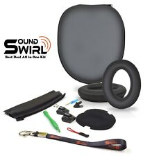 Replacement Cushion Ear Pads, Headband, PU Case Repair Kit For BOSE QC2, QC15