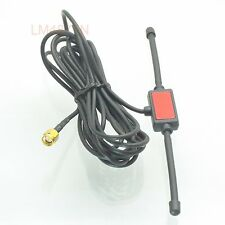 Antenna 433MHz 3dbi GSM GPRS SMA male plug tentacle 3M RG174 cable UHF VHF FPV