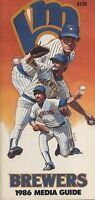 1986 Milwaukee Braves Media Guide