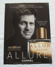 A408-Advertising Pubblicità-2000-ALLUR HOMME - CHANEL PROFUMI