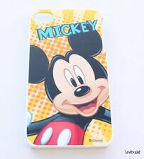 iPhone 4 4G 4S - HARD PROTECTOR CASE COVER PLATE Disney Mickey Mouse Yellow