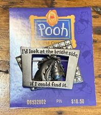 """Disney Pooh 100 Acre Collection - Eeyore """"Bright Side"""" Pin"""