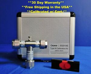 Ceyear 20201AE N-Type Male Calibration 9 GHz Comp to OSLN50-1 OSLN50A-8 85514A