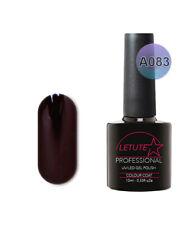 A083 LETUTE™ Black Knight A Series Soak Off Gel Nail Polish 10ml