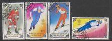 Mongolia - 1988, Winter Olympic Games set - F/U - SG 1979/82