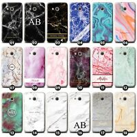 Personalized Marble Phone Case/Cover for Alcatel Smartphone Initial/Name/Custom