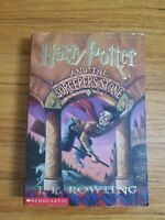 Harry Potter and the Sorcerer's Stone Paperback True First Edition/Printing