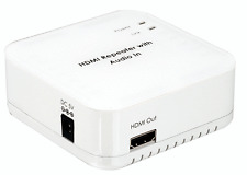 New HDMI DVI + Stereo/Optical Audio Embedder With HDMI Repeater Function