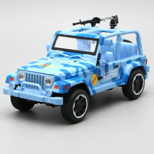 1:32 Jeep Off-road Military Force Vehicle Model Car Diecast Toy Collection Gift
