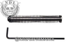 Stainless Steel Recoil Guide Rod NDZ for Glock 19 23 32 38 15Lb ISMI Spring