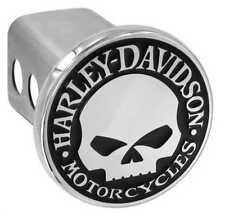 Harley-Davidson Willie G. Skull Trailer Hitch Cover 2'' Stainless Steel HDHC240