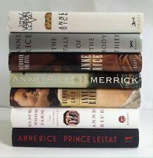Lot 7 The Vampire Chronicles 2 4 5 7 8 9 11 (HC) Anne Rice Vampire Prince Lestat