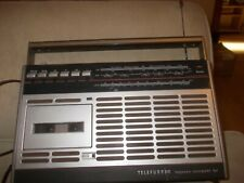 retro radiorecorder telefunken bajazzo comfort 101 mit mangel