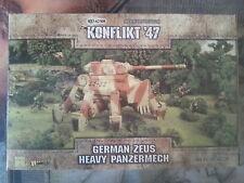 "BULLONE azione konflikt "" 47 tedesco ZEUS pesanti panzermech-NUOVO"