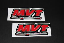 +096 MVT Engine escape exhaust ADHESIVO DECAL sticker autocollant moto