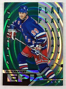 1997-98 Pinnacle EPIX Wayne Gretzky Play Green Emerald #E1