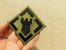 US ARMY 20TH ENGINEER BRIGADE EMBROIDERED PATCH NEW