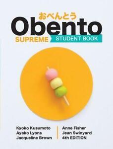 Obento Supreme Student Book 4th Edition Japanese English Language Paperback