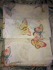 Set (2) The Company Store Butterfly Butterflies Standard Size Pillowcases 1 Pair