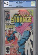 Doctor Strange #58 CGC 9.2 1985 Marvel Comic Peter Gillis Story: New Frame