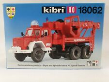 Kibri H0 1:87 OVP 18062 LKW Magirus Bergekran Mobilkran Feuerwehr Bausatz