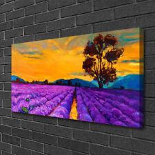 Leinwand-Bilder 100x50 Wandbild Canvas Kunstdruck Feld Landschaft