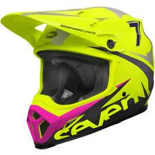 Bell Mx9 MIPS Motocross Enduro Helmet Seven Ignite Flo Yellow Black Large