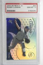 2000 Skybox E-X Roger Clemens #20 PSA 10 Gem New York Yankees Pop 13