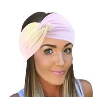 Women's headband tie-dyed printed cross hairband hair headband accessories B2C1