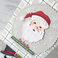 Metal Cutting Dies Cut Die Christmas Santa Scrapbooking Paper Card Making Crafts
