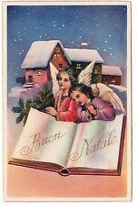 BUON NATALE  Noël  Angeli Anges Engel Presepe Crèche Nativity Weihnachtskrippe