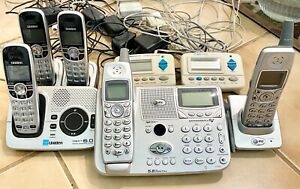 AT&T Digital Answering 2 Phone + Uniden 3 set + 2 Bell South Call ID Pc  Package