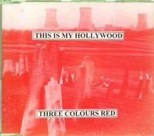 3 Colours Red This Is My Hollywood CD UK Fierce Panda 1996 3 Track B/w Hate