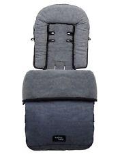 Valco Baby Snug Footmuff - Demin