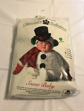 "TOM ARMA SIGNATURE COLLECTION ""SNOW BABY"" COSTUME 18M-27 HALLOWEEN CHRISTMAS NIB"