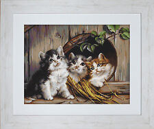 "Luca-S Embroidery Kit ""Friendly Shelter"" on Pointstitch Canvas"