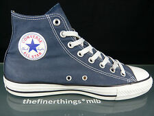 Converse All Star Chuck High us 8.5 EUR 42 zapatos Shoes Classic retro Navy Blue