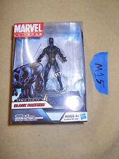 M15_3 Hasbro Marvel Universe Lot AVENGER ASSEMBLE BLACK PANTHER W/ LIGHT UP BASE