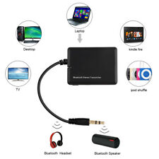 Bluetooth Transmitter Sender Audio USB 3.5mm AUX A2DP Adapter Für TV PC ipod MP3