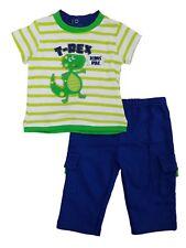 Infant Boys 2-Piece T-Rex Dinos Rule T-Shirt & Pants Set