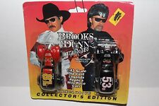 BROOKS & DUNN METAL RODEO LEGENDS RACING MAIL AWAY TWO CARS 53D & 81B