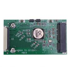 Mini SATA mSATA PCI-E IPOD SSD to 40pin 1.8 Inch ZIF CE Converter Card Adapter