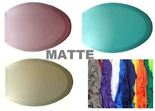 Matte Fabric Lid Cover for toilet SEAT Models Round & Elongated HandMade in USA